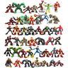 Xmas Gift Random 5 Marvel Legends Super Hero Squad Spiderman Iron Man Figure Toy