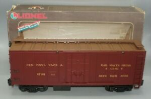 LIONEL LARGE G- SCALE 8-87101 PENNSYLVANIA REEFER IN OB - LN