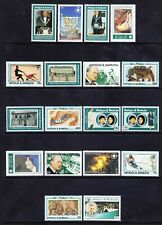 ANTIGUA & BARBUDA 1993 SG1829/MS47 Anniversaries & events set 8 +7 MS u/m cat£63