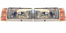 HEADLIGHT set  for VOLVO 740  760  EUROPEAN  H4 conversion with turn signals