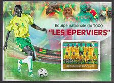 FUSSBALL/ Togo MiNr Block 525 **