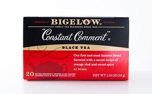 Bigelow - Constant Comment - Black Tea - 20 Tea Bags - Orange & Sweet Spice