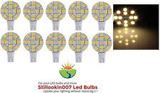10 - Low Voltage Landscape T5 LED bulbs WARM WHITE 12LED's per bulb