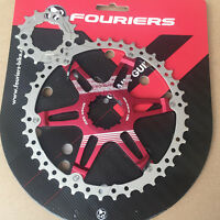 Fouriers 40T 42T cog for Shimano 1x 2x drivetrain system Cassette Teeth Sprocket