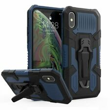 For Iphone 12 11 Pro Max Xs XR Magnetic Ring bumper Shockproof Holder Armor Case