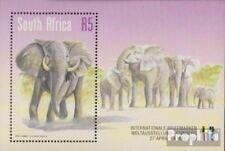 Zuid-Afrika Blok 75 (compleet Editie) First Day Cover 1999 Afrikaanse Elephant