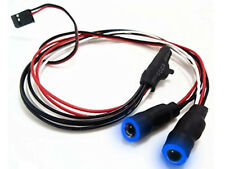 LED Angel Eyes RC Car or Drone Lights with switch (BLUE)