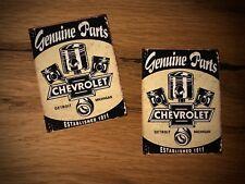 2x Chevy Aufkleber Parts Chevrolet Camaro Motor Racing Oldtimer USA V6 V8 #198