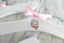 Baby girl hangers make adorable baby shower gifts for the mom to be!