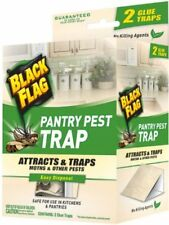 Black Flag Pantry Pest Trap for Moths and Other Pests 2 Glue Traps