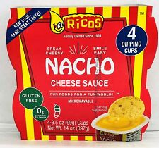 Ricos Nacho Cheese Sauce Dipping Cups 14 oz