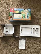 EMPTY BOX & INSERTS ONLY! RARE Animal Crossing Special Edition Nintendo Switch