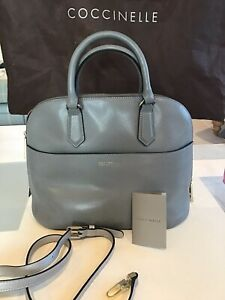 Coccinelle Bag Crossbody Leather Grey