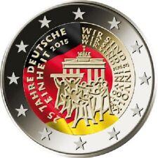 Deutschland 2 Euro 2015 - 25 Jahre Deutsche Einheit - In Farbe - bfr.