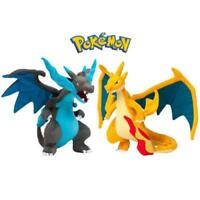 2Pcs Pokemon Mega Evolution X&Y Charizard Plush Figure Toy Stuffed Doll Gift 9''
