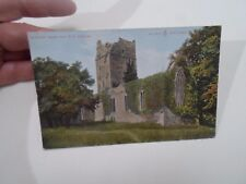 Vintage Colour Tinted Postcard MUCKROSS ABBEY FROM S E KILLARNEY     §A218