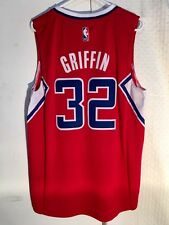 Adidas Swingman 2014-15 Jersey Los Angeles Clippers Blake Griffin Red sz 2X