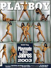 PLAYBOY 2003/12 [Dezember 03] * Carmen Elektra * Nadia Chérif *o.Kalender* Z 1-2