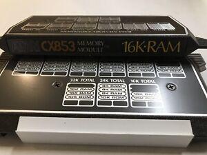 Atari 400/800 16K RAM PCB Tested Working In Plastic Case