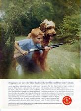 1962 Mattel Inc PRINT AD Rare Boy & Dog hunt Dick Tracy Power Jet Gun Frame it!