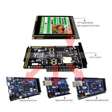 """2.8""""inch TFT LCD Capacitive Touch Shield for Arduino Due,MEGA 2560,Uno w/Library"""