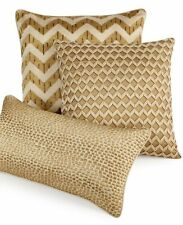 """NWD $110 Hotel Collection Mosaic 18"""" Square Decorative Pillow Chevron #2"""