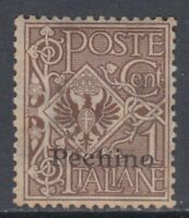 Italy Pechino Offices - Sassone n.8 cv 210$ MNH**