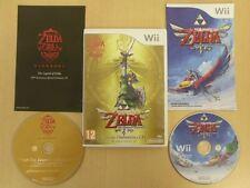 Nintendo Wii Game LEGEND OF ZELDA SKYWARD SWORD LIMITED EDITION Complete 13012