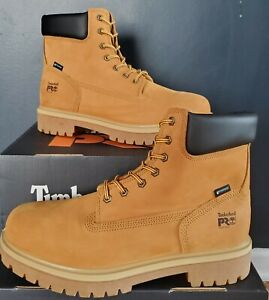 """NEW AUTHENTIC TIMBERLAND PRO® DIRECT ATTACH 6"""" SOFT TOE WATERPROOF BOOT US 14 W"""