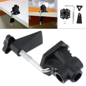 Desk Lamp Swing Arm Drafting Light Mic Clamp Holder Bracket Work Office Clip