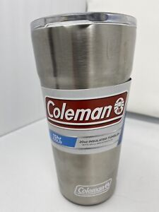 Coleman Brew Vacuum-Insulated Tumbler, Stainless Steel, 20oz with Bottle Opener