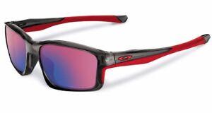 POLARIZED NEW Genuine OAKLEY CHAINLINK Grey OO Red Iridium Sunglasses OO 9247-10