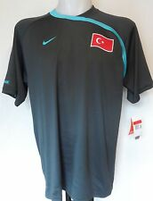 Turkey Football Grey Training Shirt by Nike Size Large With Tags
