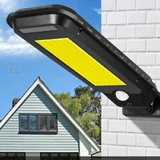 Faro lampione stradale pannello solare fotovoltaico sensore 210 led COB T-210A