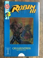 Robin III #3 Cry of the Huntress DC Comics 1993 VF