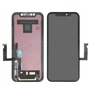DISPLAY LCD OLED APPLE IPHONE XR A1984 A2105 TOUCH SCREEN SCHERMO VETRO PANNELLO