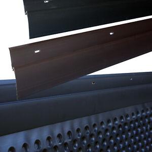 1-200 m - Abdeckprofil für Noppenfolie PVC - 65x10 mm Noppenbahn Halteleiste