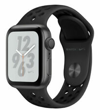 Apple Watch Series 4 Nike+ 44 mm Space Gray Aluminum Case with Anthracite/Black Nike Sport Band (GPS) - (MU6L2LL/A)