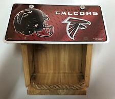 Atlanta Falcons License Plate Bird Feeder