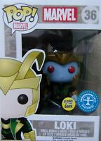 Rare Vaulted Marvel Funko Pop Loki Frost Giant #36 Underground Toys Exclusive