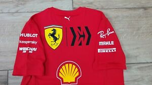 Mission Winnow Ferrari F1 2020 Charles Leclerc team issue t-shirt size XL