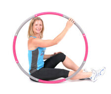 ResultSport® Level 1 Foam Padded Weighted Hula Hoop 100cm 1.2kgs (2.65lbs) 100cm