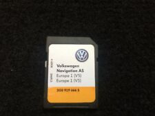 Genuine VW Discover Sat Nav Navigation comme Carte SD Europe 1 V5 2016-17 3G0919866S