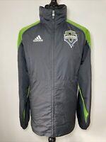 Adidas Seattle Sounders 2010 MLS Jacket Coat Windbreaker Full Zip Xbox 360 L