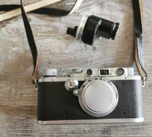 Leica III KAMERA von 1934 mit Universalsucher und Objektiv