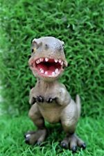 16CM T REX DINOSAUR ANIMAL GARDEN STATUE ORNAMENT FIGURINE SCULPTURE
