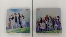 Gundam W Vol.1 2 3 4 5 6 7   2 BOX  7LD   JAPAN anime  Laser Disc LD   USED