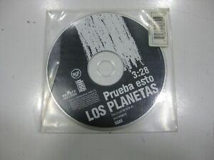 Los Planetas CD Single Espagnol Test Esto 1998