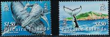 Pitcairn Islands SC645-646 WhalesUndeWater-WhiteWhaleAboveWater MNH 2006