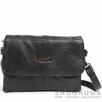 Ladies / Womens Small Soft Nappa Leather Across Body / Shoulder / Clutch Bag